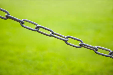 Chain Link in green background