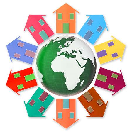environmentalism: Global village concept .
