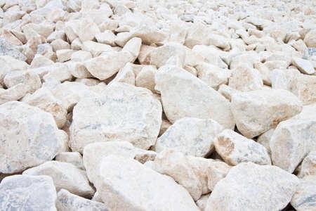 expanse: Expanse of white gravel. Useful image as background