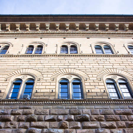 The Medici Riccardis Palace in Florence: a magnificent example of Renaissance architecture (Italy-Tuscany-Florence) Editorial