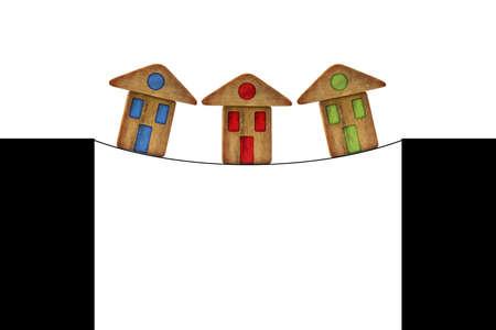 housing crisis: Real estate market crisis - concept image