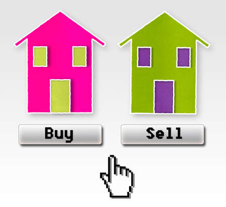 clic: Buy or sell: this is the problem! Concept image