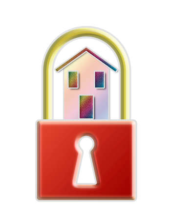 protect home: Protect your home - concept image