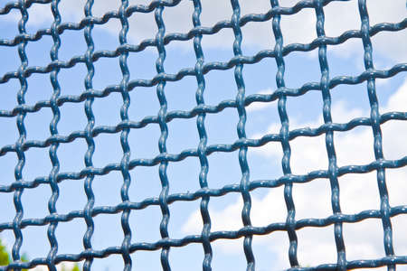 safekeeping: Closed metal grate - concept image