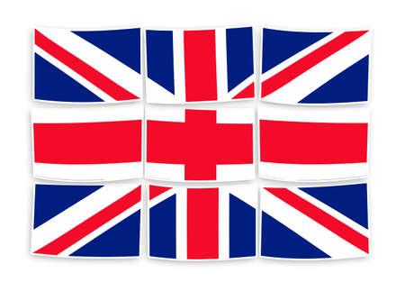 Rebuild england - concept image in puzzle shape