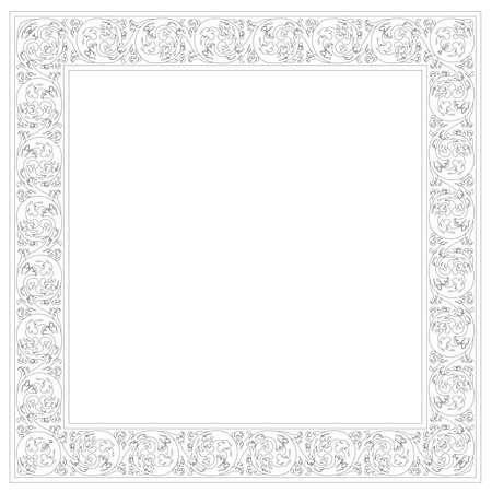 Typical portuguese decorations called azulejos - digital sketch Banco de Imagens