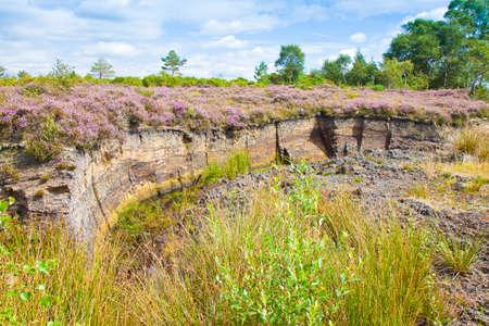 Irish peat bog landscape - (Ireland - Europe) Reklamní fotografie - 109258851