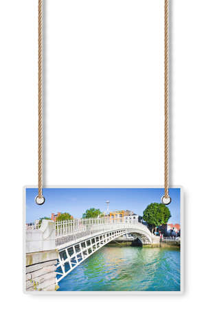 The most famous bridge in Dublin called