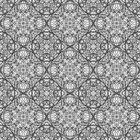 Abstract geometric seamless texture made with scribbles - perfect seamless pattern that can be repeated modularly to create a uniform and continuously background - useful for rendering.