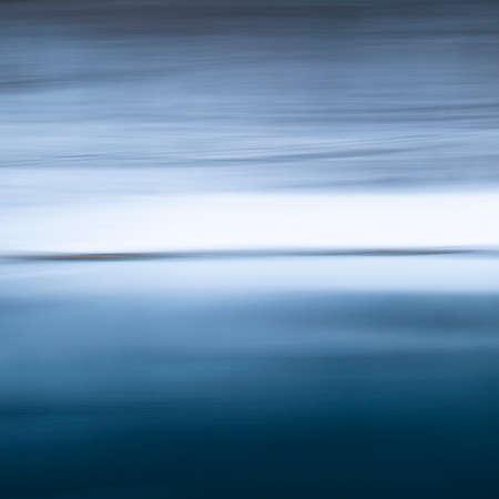Vivid lights of the lake with long exposure effect Standard-Bild