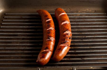 grilled sausages: Grilled Sausages