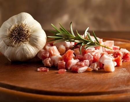 pancetta cubetti: pancetta