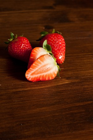 Strawberries with melted choccolate Stock Photo - 7871247