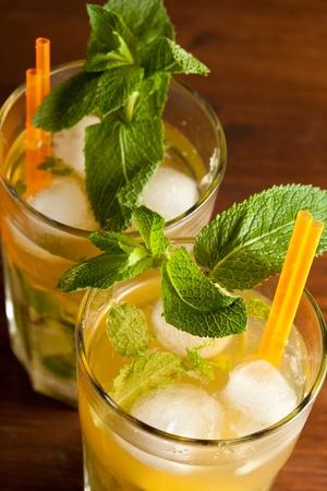 mojito: mojito cocktail Stock Photo