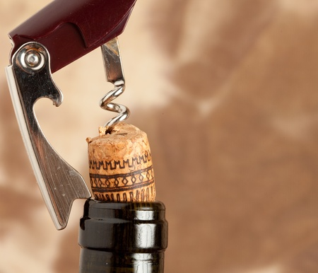 bottle opener: Corkscrew - Bottle opener