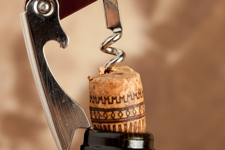 Corkscrew - Bottle opener Stock Photo - 8858831