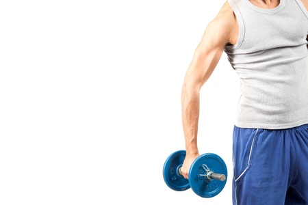 exercices: photo of man who is doing fitness exercices