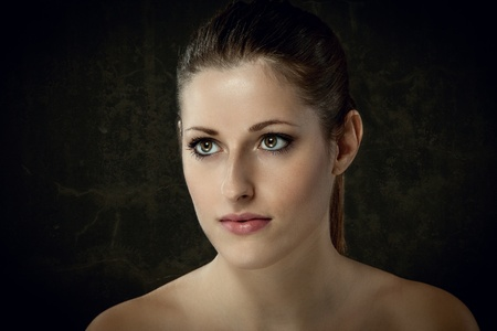 female portrait with beautiful smooth skin Stock Photo - 15692319