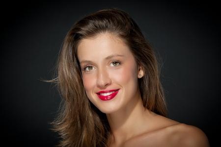 beautiful smiling girl Stock Photo - 16128787