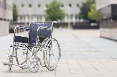 discapacidad: Foto de la silla de ruedas