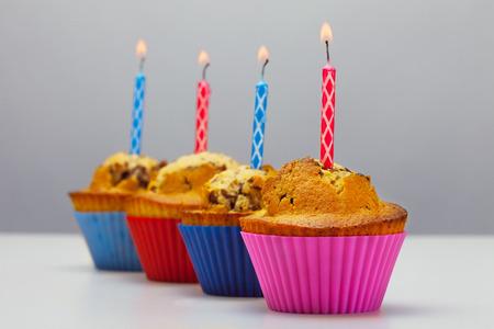 tortas de cumpleaños: Foto de magdalenas del cumpleaños