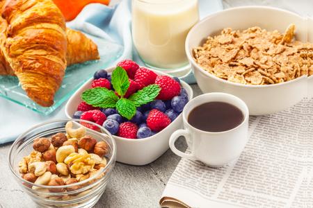 healthy breakfast: Photo of healthy breakfast