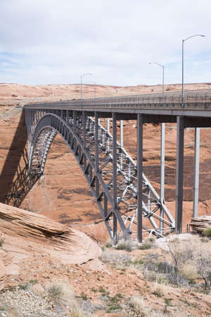glen canyon bridge photo