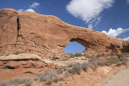 arches national park: Arches National Park Stock Photo