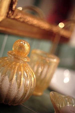 luxury accessory - view of jewellery closeup