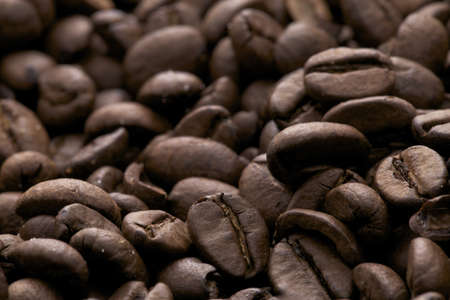 brown coffe beans background - caffe espresso