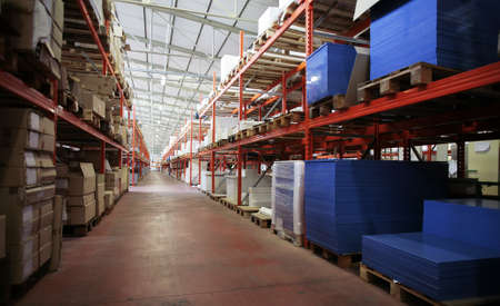 industry wharehouse - stocking and storage detail Stock Photo - 8396093