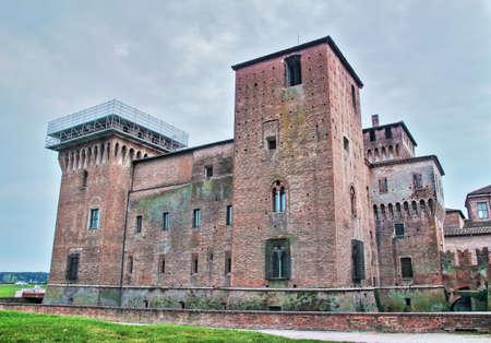 Castel San Giorgio Gonzaga39s royal family palace in Mantua Lombardy Italy