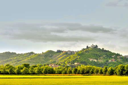 Overview of Montevecchia
