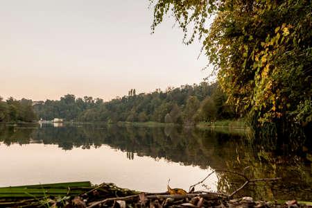 A bend along river Adda
