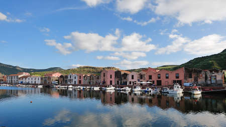 The Tanneries of Bosa is an important example of industrial architecture in Sardinia , The buildings are divided into two floors  On the ground floor there were, in addition to a well and the presses, the large tanks of masonry wood-paneled in which they  Editorial
