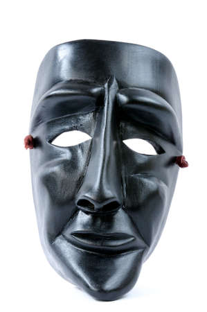 finer: Picture of the traditional mask of the Carnival of Ottana Sardinia Italy. Foto de archivo