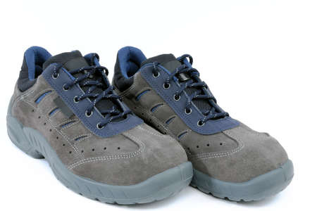 work shoes: Protective work shoes for heavy work at the construction site