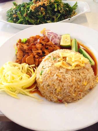 Nasi goreng Thai style