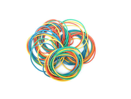 Rubber band forming shape