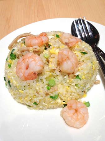 Prawn egg fried rice