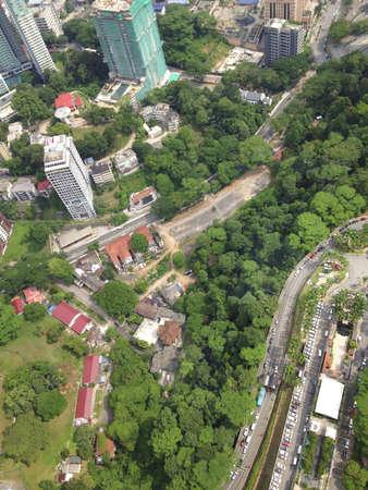 Kuala Lumpur top view