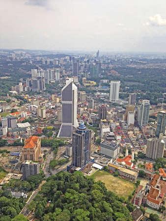 Kuala Lumpur city view Stock Photo
