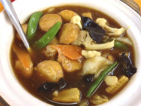 Clay pot Tofu