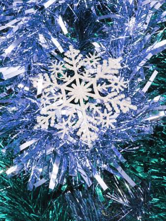 Snowflake Christmas decoration.