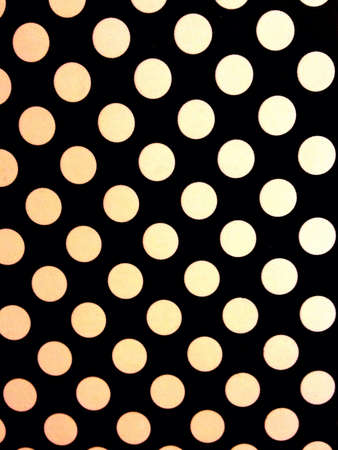 Dots in black color background