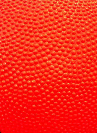 Red color basketball texture  Stock Photo