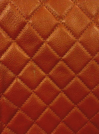 Brown color bag texture.
