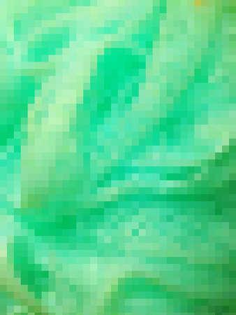 Mosaic effect green background