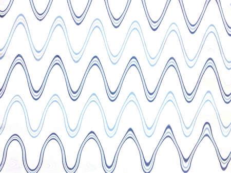 Wave effect background  Stock Photo