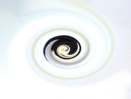 Twirl effect background